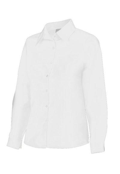 Blusa entallada basica manga larga