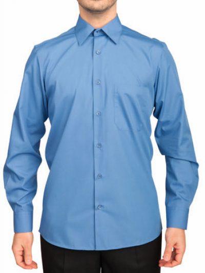 Camisa caballero 1 bolsillo colores manga larga