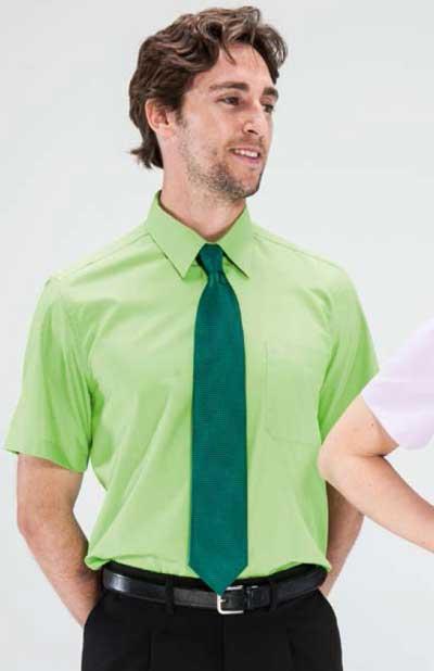 Camisa 1 bolsillo colores manga corta