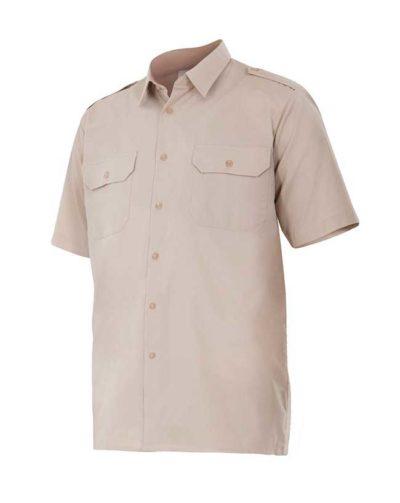 Camisa laboral standard manga corta