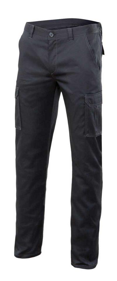 Pantalón multibolsillos stretch