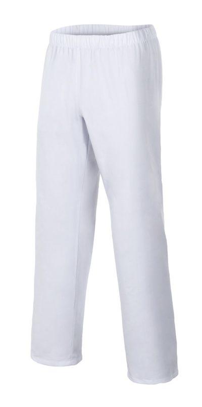 Pantalón sanitario unisex blanco con bolsillos
