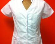 bluson estetica cuello mao botones click