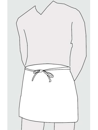 delantal-camarero-corto-blanco
