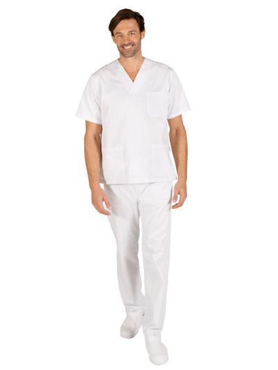 pijama sanitario blanco