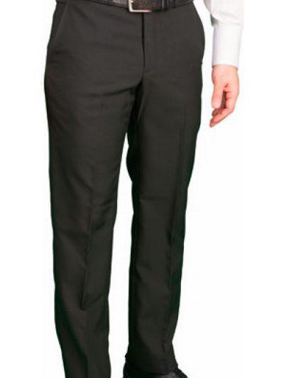pantalon sin pinzas tipo chino negro