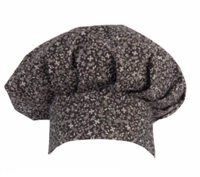 gorro cocinero champiñon estampado cashemire