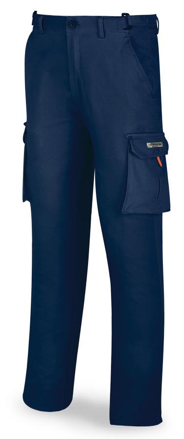 pantalón laboral elástico