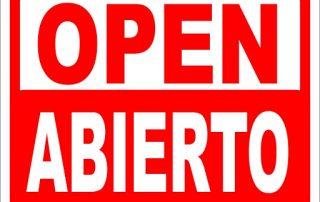 abrimos nuestras puertas