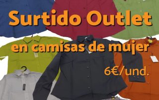 outlet camisas mujer